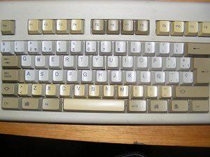 teclado antiguo